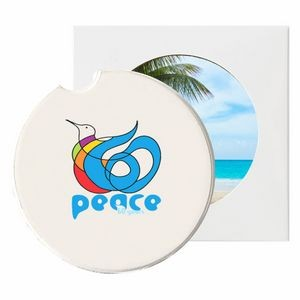 Absorbent Stone Car Coaster